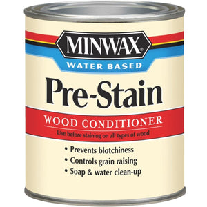 946mL (1 quart) can of MinWax pre-stain wood conditioner