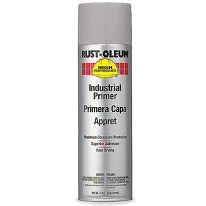 Rust-Oleum High Performance V2182838 Enamel Spray Primer- Gray