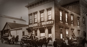 Anchor Brewery, 1906, on Pacific Avenue between Larkin and Hyde Street
