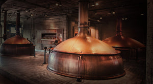 Anchor brewery copper kettles