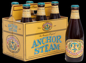 Anchor brewery's Steam beer from the 1989 Loma Prieta eathquake