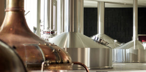 Westmalle stainless Steinecker brewhouse installed in 2016 alongside the (now decommissioned) copper kettles