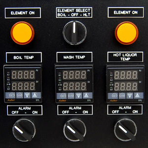 Standard 30A Electric Brewery Control Panel heating element controls