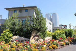 The Deschutes brewery overlooks the wild and scenic Deschutes River in beautiful Bend, Oregon