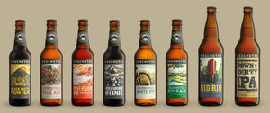 The Deschutes brewery lineup (circa 2016)