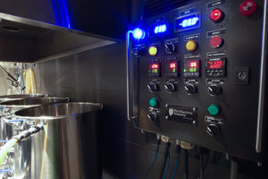 Wort temperature has dropped to 174F after 39 minutes