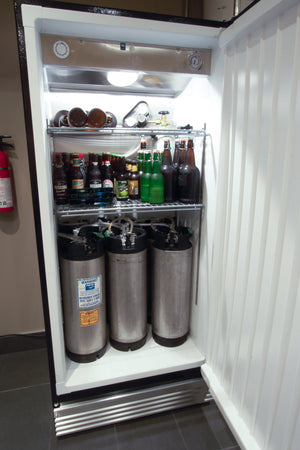 6-keg conditioning fridge
