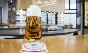 The unique Bitburger goblet released in 1964