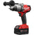 High powered 3/8 or 1/2 inch variable speed reversible drill