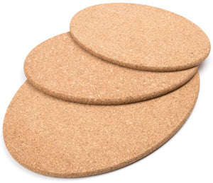 Large cork heat mats