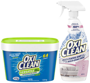 OxiClean Baby or Free oxygen based cleaner