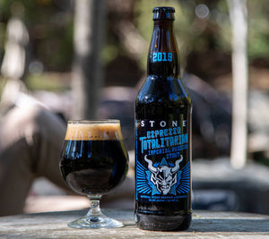 Espresso Totalitarian Imperial Russian Stout by Stone Brewing Company