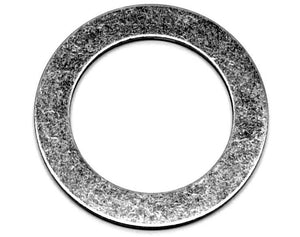 Stainless steel washer/shim, 1-1/8 inch ID, 1-5/8 inch OD, 0.062 inch thick