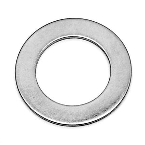 Stainless steel washer/shim, 7/8 inch ID, 1-3/8 inch OD, 0.062 inch thick