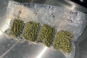 Storing hops and dry yeast. Step 5: Seal pouches