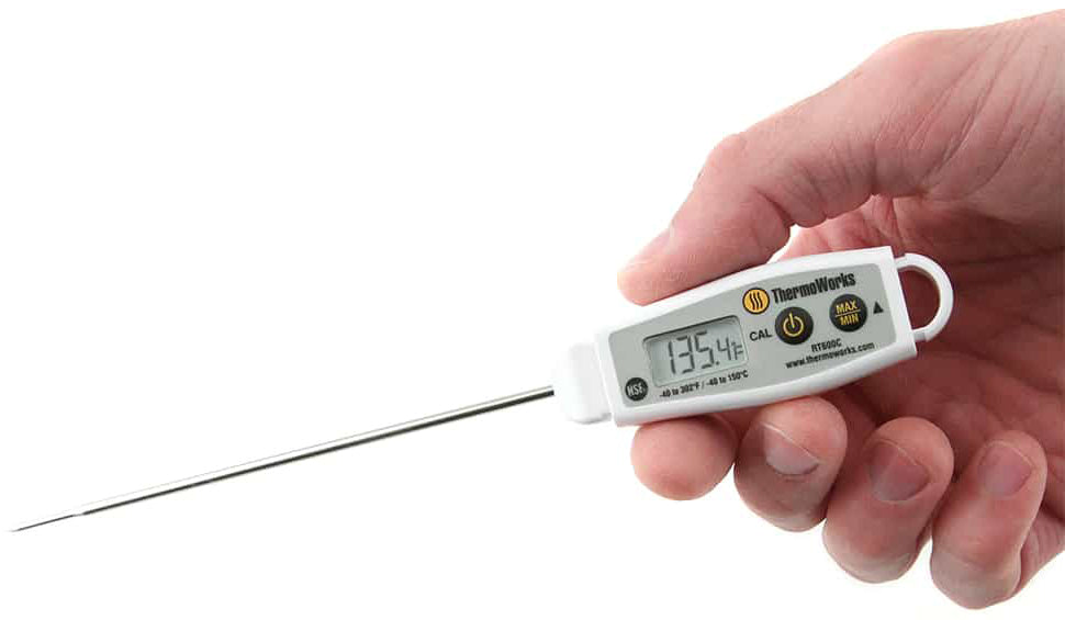 RT600C Super-fast Water-resistant Digital Pocket Thermometer
