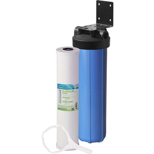 Activated carbon water filtration system