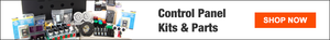 Shop control panel kits and parts