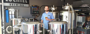 Electric Brewery Control Panel installed at Lochiel brewing