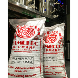 Two 55kg sacks of Weyermann malt