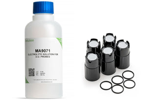 Milwaukee MA9071 electrolyte calibration solution and MA841 spare membranes