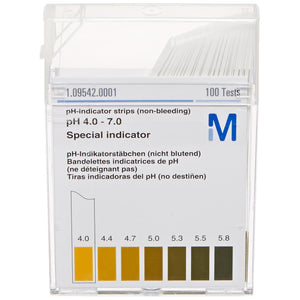 pH test strips (4-7 range)
