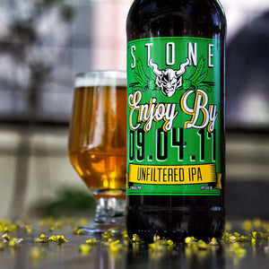 Stone Brewing Enjoy By Double IPA