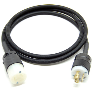 Extension cord for 120V pump with twist lock plug (L5-15R to L5-15P)
