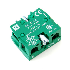 Normally Open (NO) contactor, 10A/240VAC
