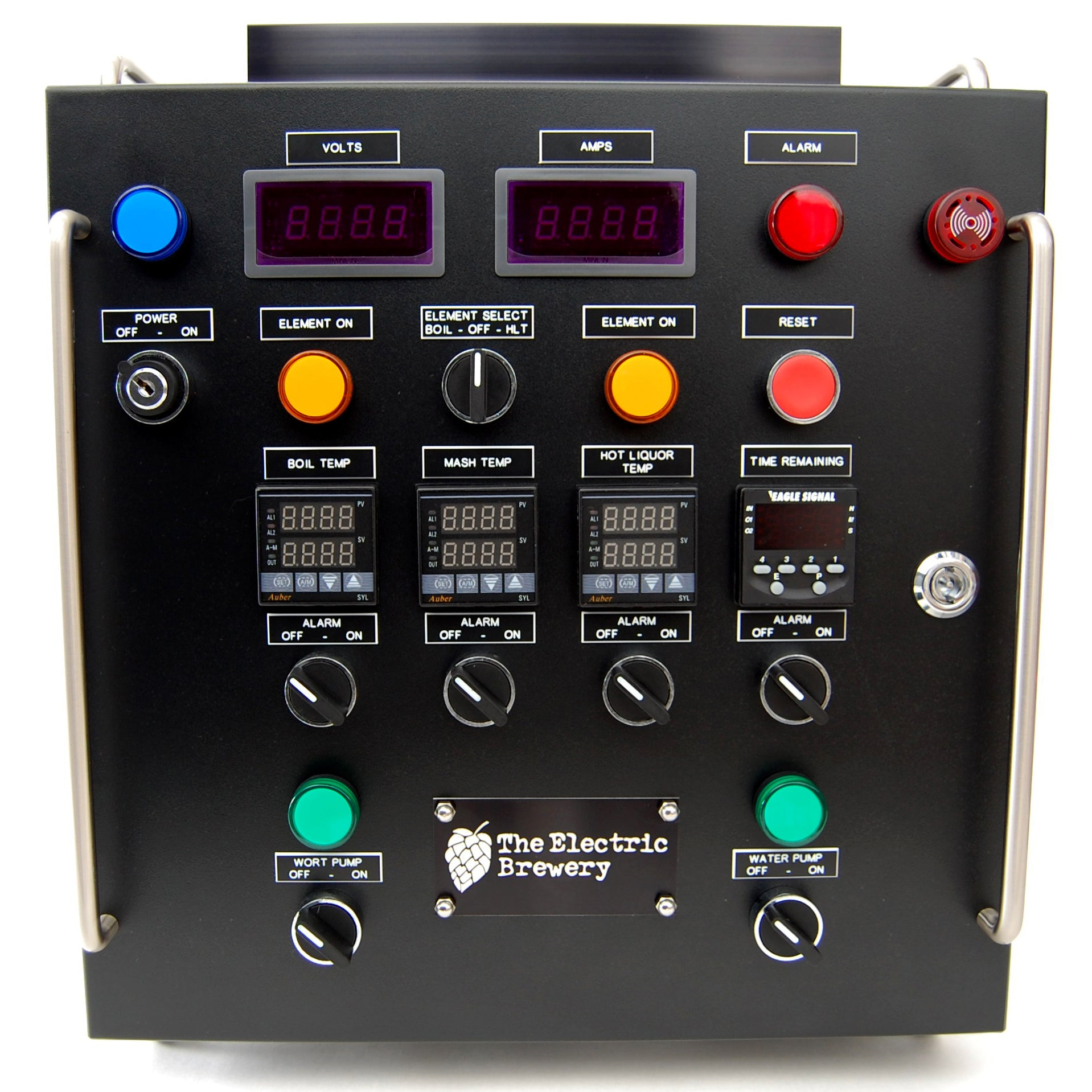 standard 30a electric brewery control panel (pre-assembled) - the electric  brewery