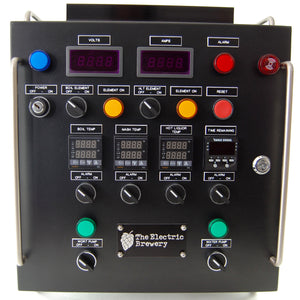 Electrical panel tags for 50A Control Panel for back to back batches