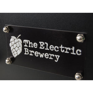 Electrical panel tags for 50A Electric Brewery Control Panel for 30+ gallons