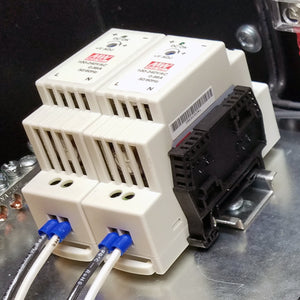 DIN rail stopper (snap)