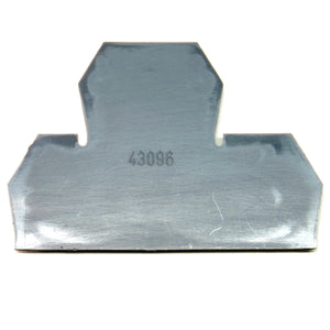 30A terminal block end cover, 2 level