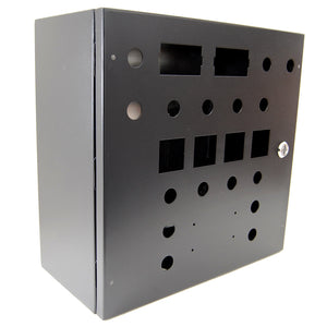 "16x16x8"" enclosure pre-punched and painted for Standard 30A Control Panel"