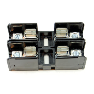 2-pole fuse holder for 10x38mm fuses, 30A 600V