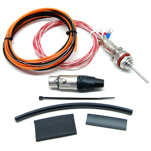 "Electric Brewery temperature probe, M14x1.5 Metric, 2"" probe length (DIY Kit)"