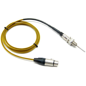 "Electric Brewery temperature probe,1/4"" NPT, 2"" probe length (Pre-Assembled)"
