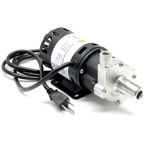 Chugger X-Dry (run dry protection) pump, stainless steel head, center inlet, 115V (XCPSS-CI-1)