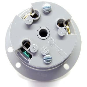 NEMA L6-30 (250VAC, 30A) twist lock electrical male receptacle
