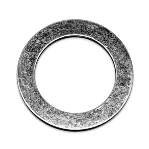 "Stainless steel washer/shim, 1"" ID, 1 1/2"" OD 0.048"" thick"