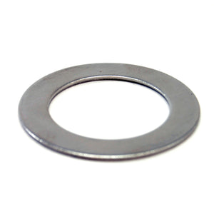 "Stainless steel washer/shim, 1-1/2"" ID, 2-1/4"" OD, 0.075"" thick"