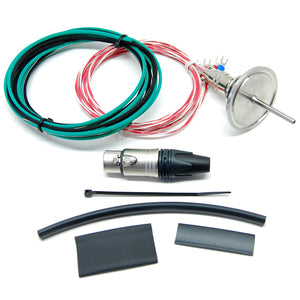 Electric Brewery Temperature Probe, 1/2 inch NPT, 1.5 inch probe length (DIY Kit)