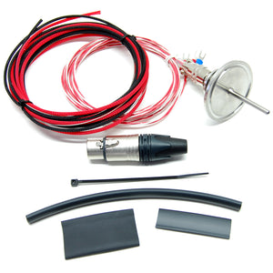 "Electric Brewery temperature probe, Tri-Clamp, 1.5"" flange (DIY Kit)"