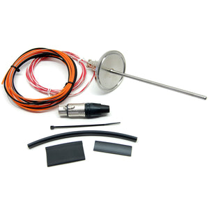 "Electric Brewery temperature probe, Tri-Clamp, 2"" flange (DIY Kit)"