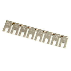 Terminal strip jumper, 8 position