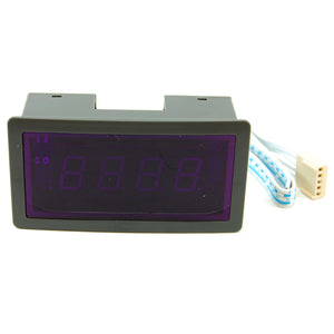 3 digit blue LED digital panel volt meter, 700V AC, 5V DC supply