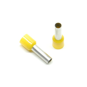 10 gauge wire ferrule, yellow (25 pack)