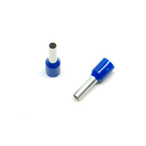 14 gauge wire ferrule, blue (25 pack)
