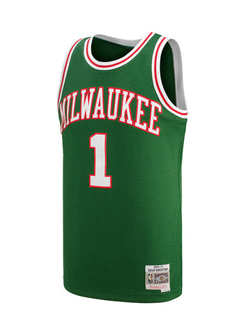 Mitchell   Ness Oscar Robertson Milwaukee Bucks HWC Swingman JerseyInspired  by jersey s worn by our historic legends bc2c6df9a